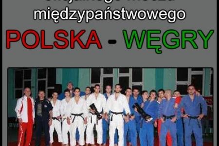 Oprawa Meczu Międzypaństwowego POLSKA-WEGRY / JUDO