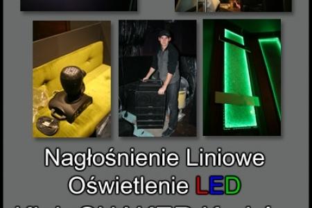 Montaż: Oświetlenie i Naglośnienie / SHAKER Kraków
